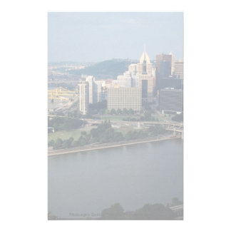 Pittsburgh s Golden Triangle Pennsylvania U S A Customized Stationery