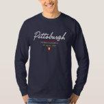 Pittsburgh Script Tee Shirts