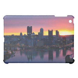Pittsburgh Skyline at Dawn iPad Case
