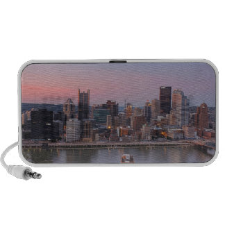 Pittsburgh Skyline at Sunset Speakers