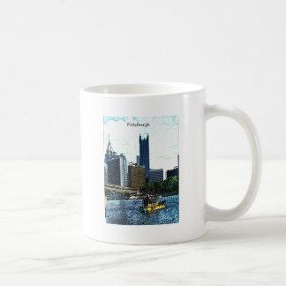 Pittsburgh Skyline Basic White Mug