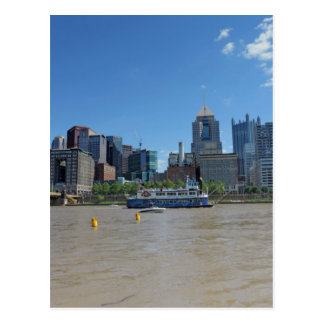 Pittsburgh skyline from PNC Park Postcard