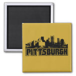 Pittsburgh Skyline Refrigerator Magnets