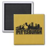 Pittsburgh Skyline Refrigerator Magnets