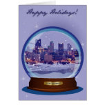 Pittsburgh Snowglobe Holiday Card