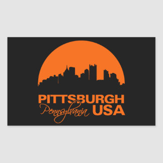 PITTSBURGH stickers - customizable