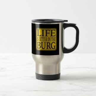 PITTSBURGH TRAVEL MUG