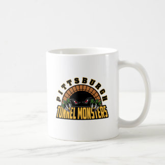 Pittsburgh Tunnel Monsters Basic White Mug