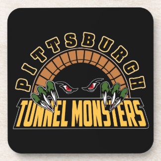 Pittsburgh Tunnel Monsters Beverage Coasters