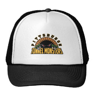 Pittsburgh Tunnel Monsters Trucker Hats