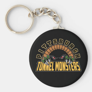 Pittsburgh Tunnel Monsters Keychain