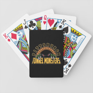 Pittsburgh Tunnel Monsters Poker Cards