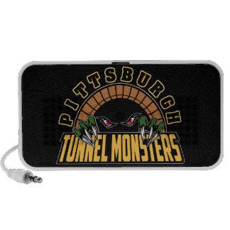 Pittsburgh Tunnel Monsters Laptop Speaker