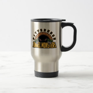 Pittsburgh Tunnel Monsters Stainless Steel Travel Mug