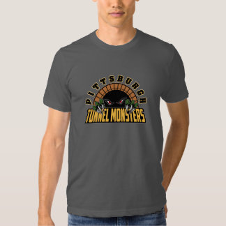 Pittsburgh Tunnel Monsters Tee Shirts
