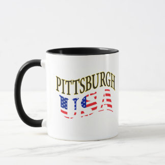 PITTSBURGH USA COFFEE MUG