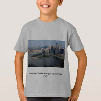 Pittsburgh's Golden Triangle, Pennsylvania, U.S.A. T-Shirt