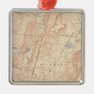 Pittsfield, Massachusetts Christmas Ornament