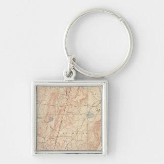 Pittsfield, Massachusetts Key Ring