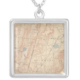 Pittsfield, Massachusetts Silver Plated Necklace
