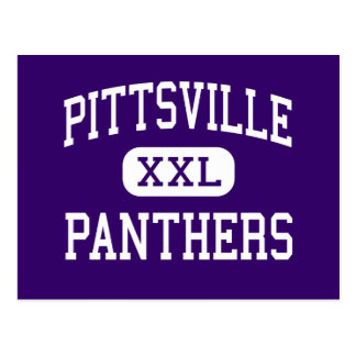 Pittsville - Panthers - High - Pittsville Postcard