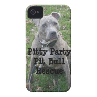 Pitty Party Pit Bull Rescue iPhone Case iPhone 4 Case-Mate Cases