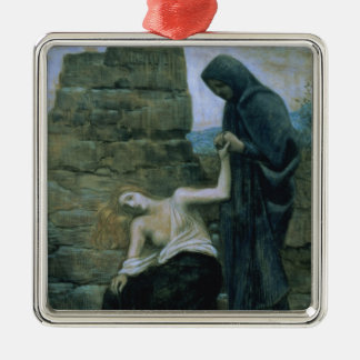 Pity, 1887 christmas ornament