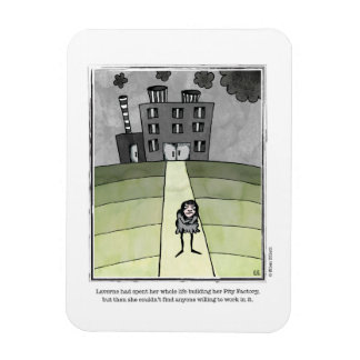 PITY cartoon by Ellen Elliott Rectangular Photo Magnet