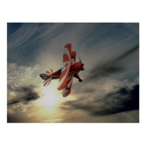 Pitz Special, single seat aerobatic aircraft Post Card