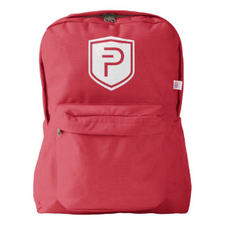 PIVX American Apparel™ Backpack, Red Backpack
