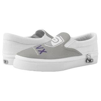 PIVX Grey Slip-On Shoes Reverse Colour