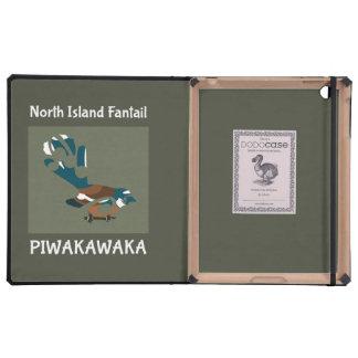 Piwakawaka   Fantail   New Zealand bird Cases For iPad