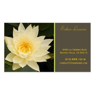 PixDezine lotus flower/om/yoga/healers/DIY colors Business Card Template