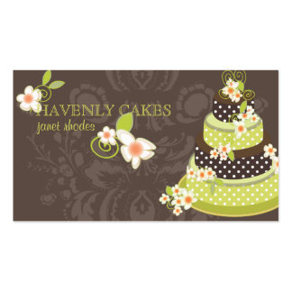 PixDezine Pandana Green Bakery/pâtisserie Business Card Templates