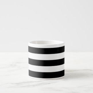 PixDezines adjustable white stripes/diy color Espresso Mug
