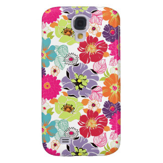 PixDezines Alegre Retro Floral Galaxy S4 Case
