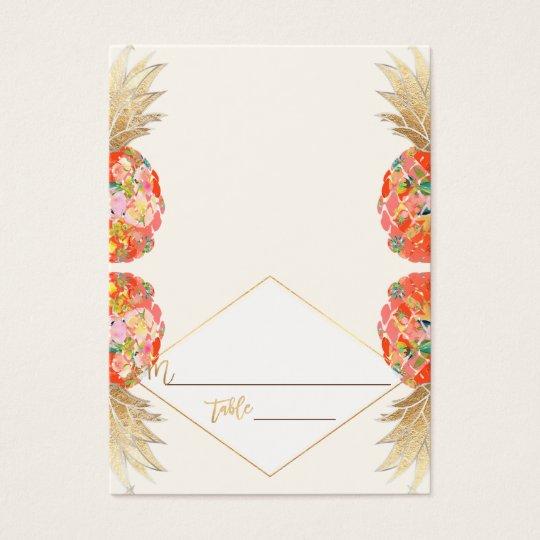 PixDezines Aloha Hawaiian Pineapple/Place Cards
