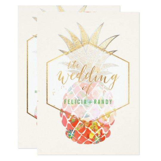 PixDezines Aloha Hawaiian Pineapples/DIY Backgroun Card