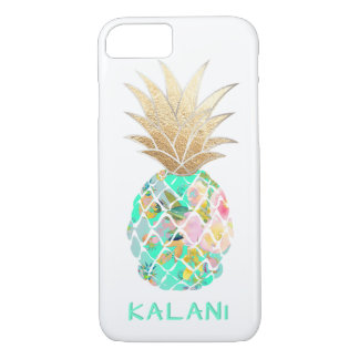 PixDezines Aloha Pineapples/DIY background iPhone 8/7 Case