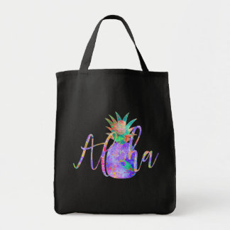 PixDezines Aloha Pineapples/DIY background Tote Bag