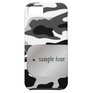PixDezines Arctic Camo+Dog+Tag iPhone 5 Covers