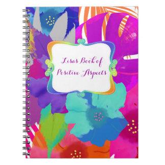 PixDezines bali kai/book of positive aspects Notebooks