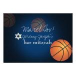PixDezines basketball bar mitzvah/DIY colour Custom Announcements