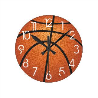 PixDezines Basketball Wall Clock/DIY Font Wallclock