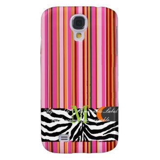 PixDezines Beach Towel, monogram available Galaxy S4 Case
