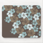 PixDezines blue hibiscus/diy background Mousepads