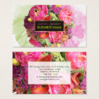 PixDezines bridal bouquet/watercolor/floral Business Card