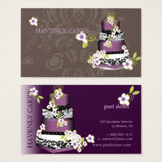 PixDezines Cake/Bakery/pâtisserie Business Card