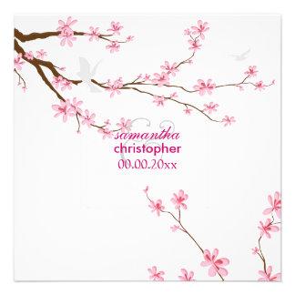 PixDezines Cherry blossom diy background Personalized Invites