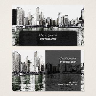 PixDezines City Scape, Lakeshore, Chicago Business Card
